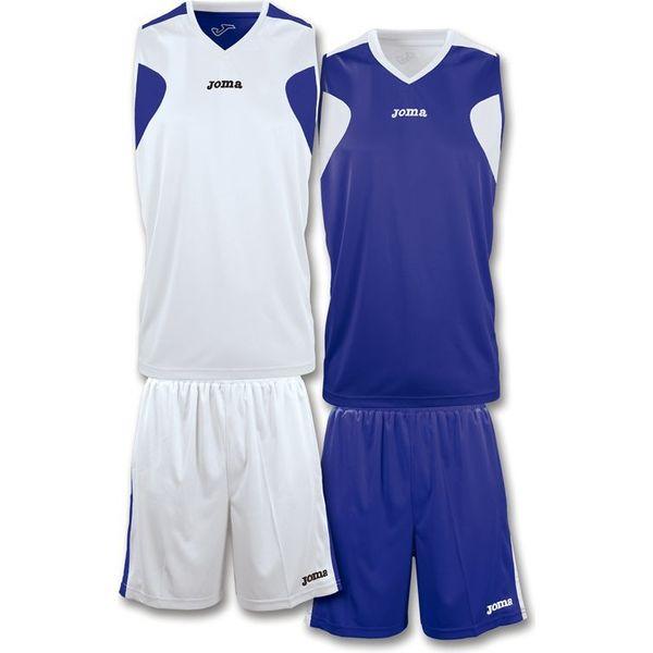 Joma Set De Basketball Réversible Hommes - Blanc / Marine
