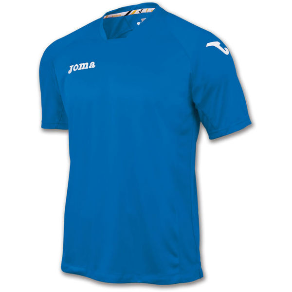 Joma Fit One Shirt Korte Mouw - Royal / Wit
