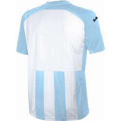 Voorvertoning: Joma Pisa 12 Shirt Korte Mouw Heren - Lichtblauw / Wit