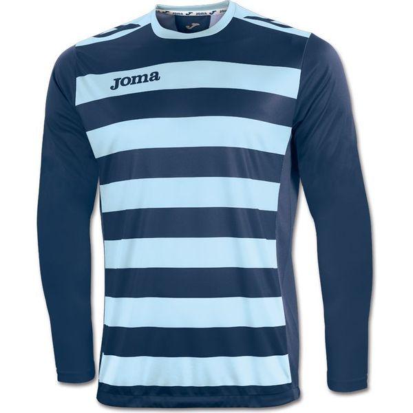 Joma Europa II Shirt Korte Mouw Heren - Marine / Lichtblauw