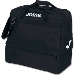 Joma Training III (Large) Sporttas Met Bodemvak - Zwart