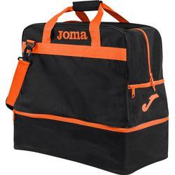 Joma Training III (Large) Sac De Sport Avec Compartiment Inférieur - Noir / Orange