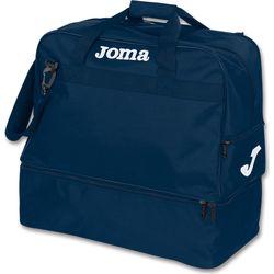 Joma Training III (Large) Sporttas Met Bodemvak - Marine