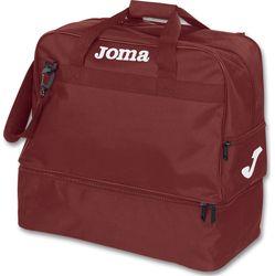 Joma Training III (Large) Sporttas Met Bodemvak - Bordeaux