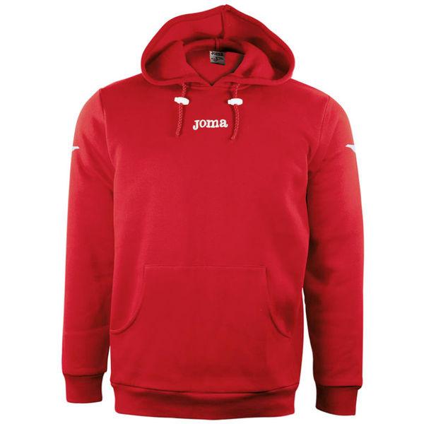 Joma Combi Sweater Met Kap - Rood / Wit
