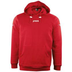 Joma Combi Sweater Met Kap Heren - Rood / Wit
