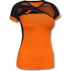 Joma Supernova II Shirt Korte Mouw Dames - Oranje / Zwart