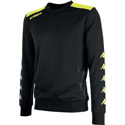 Kappa Saguedo Trainingssweater - Zwart / Fluogeel