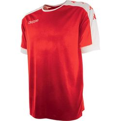 Kappa Tanis Maillot Manches Courtes Hommes - Rouge