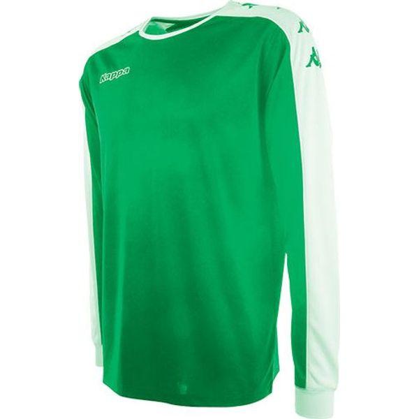 Kappa Tanis Voetbalshirt Lange Mouw Kinderen - Groen