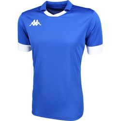 Kappa Tranio Shirt Korte Mouw Heren - Royal / Wit