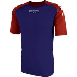 Kappa Paderno Shirt Korte Mouw Kinderen - Marine / Rood