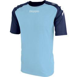 Kappa Paderno Shirt Korte Mouw Heren - Hemelsblauw / Marine