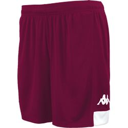Kappa Paggo Short Heren - Bordeaux / Wit