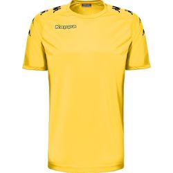 Kappa Castolo Shirt Korte Mouw Heren - Geel