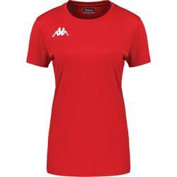 Kappa Roviga Shirt Korte Mouw Dames - Rood