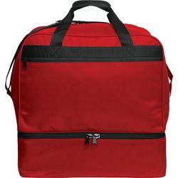 Kappa Hardbase (Large) Sac De Sport Avec Compartiment Inférieur - Rouge