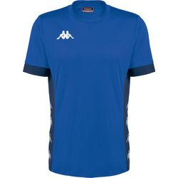 Kappa Dervio Shirt Korte Mouw Heren - Royal