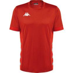 Kappa Dervio Shirt Korte Mouw Kinderen - Rood