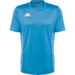 Kappa Dervio Shirt Korte Mouw Kinderen - Azuurblauw