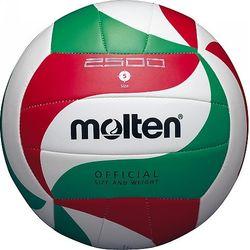 Molten V5m2501 School Volleybal - Wit / Rood / Groen