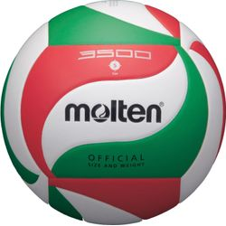 Molten V5m3500 Volleybal - Wit / Rood / Groen