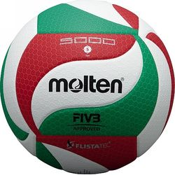 Molten V5m5000 Volleybal - Wit / Rood / Groen