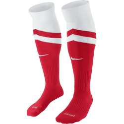 Nike Vapor II Chaussettes De Football - University Red / White