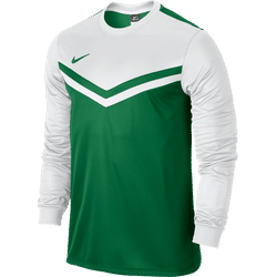 Nike Victory II Maillot À Manches Longues Hommes - Pine Green / White