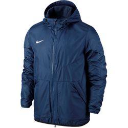 Nike Team Fall Jacket Heren - Obsidiaan / Dark Obsidian / White