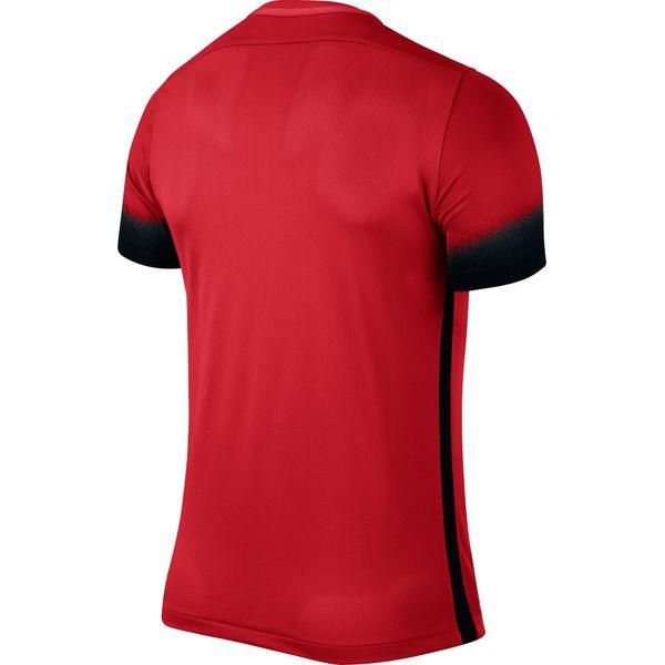 Nike Laser III Shirt Korte Mouw Heren - University Red / Black