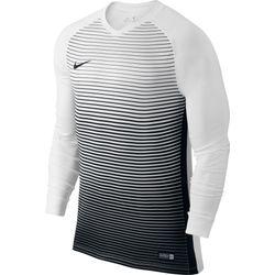 Nike Precision IV Voetbalshirt Lange Mouw Kinderen - Wit / Zwart