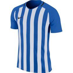 Nike Striped Division III Shirt Korte Mouw Heren - Royal / Wit