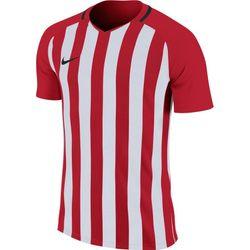 Nike Striped Division III Shirt Korte Mouw Kinderen - Rood / Wit