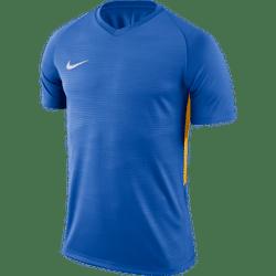 Nike Tiempo Premier Shirt Korte Mouw Kinderen - Royal / Geel