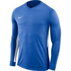 Nike Tiempo Premier Voetbalshirt Lange Mouw - Royal / Wit