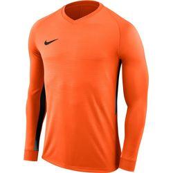 Nike Tiempo Premier Voetbalshirt Lange Mouw Heren - Oranje / Zwart