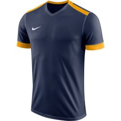 Nike Park Derby II Shirt Korte Mouw - Marine / Goud