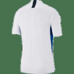 Voorvertoning: Nike Legend Shirt Korte Mouw Kinderen - Wit / Hemelsblauw