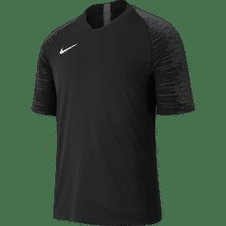 Nike Strike Shirt Korte Mouw - Zwart / Antraciet