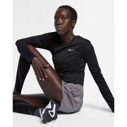 Nike Miler Longsleeve Femmes - Noir