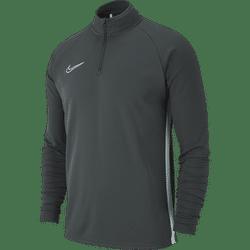 Nike Academy 19 Ziptop Kinderen - Antraciet