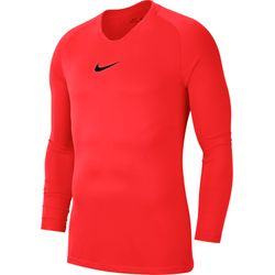 Nike Park First Layer Shirt Lange Mouw Heren - Fluorood