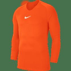 Nike Park First Layer Shirt Lange Mouw - Oranje