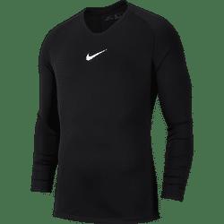 Nike Park First Layer Shirt Lange Mouw Kinderen - Zwart