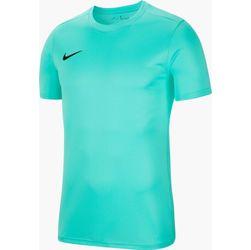 Nike Park VII Shirt Korte Mouw Heren - Turkoois