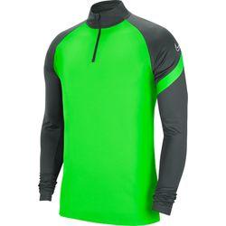Nike Academy Pro Ziptop Hommes - Vert Fluo / Anthracite