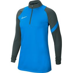 Nike Academy Pro Ziptop Dames - Royal / Antraciet