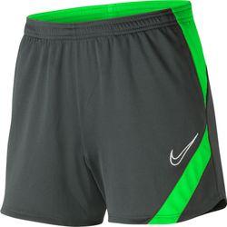 Nike Academy Pro Trainingsshort Dames - Antraciet / Fluo Groen