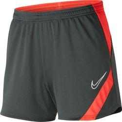Nike Academy Pro Trainingsshort Dames - Antraciet / Fluorood